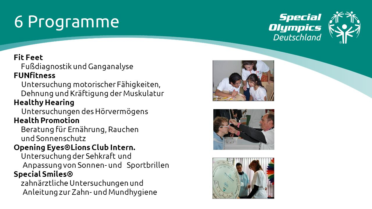 6 Programme Fit Feet Fußdiagnostik und Ganganalyse FUNfitness