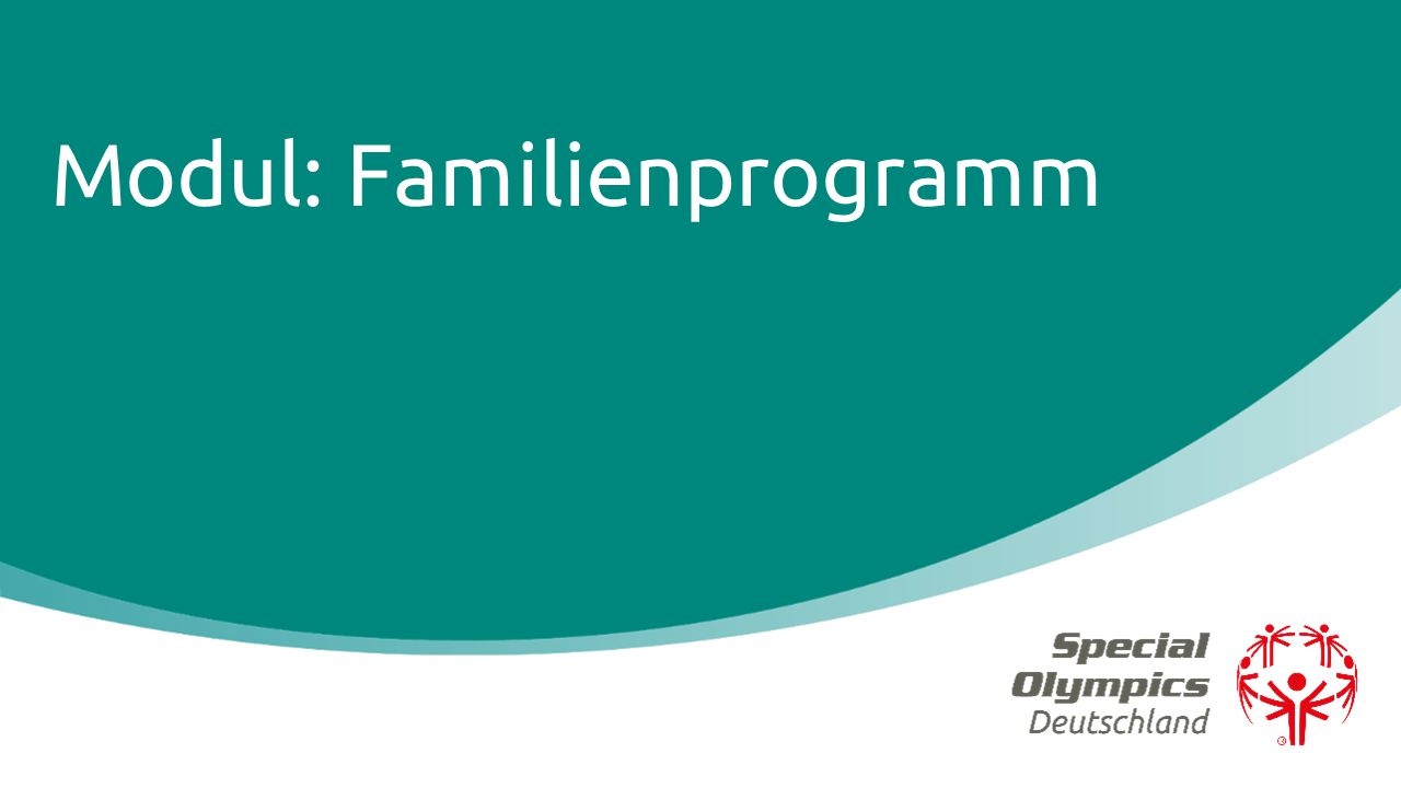 Modul: Familienprogramm