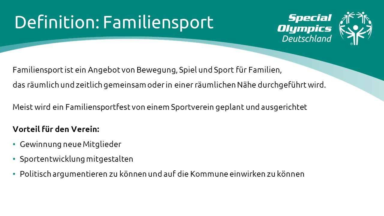 Definition: Familiensport