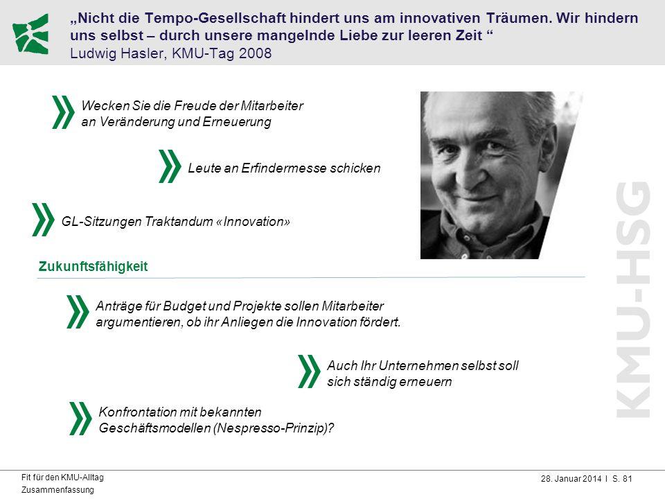 """""""Nicht die Tempo-Gesellschaft hindert uns am innovativen Träumen"""