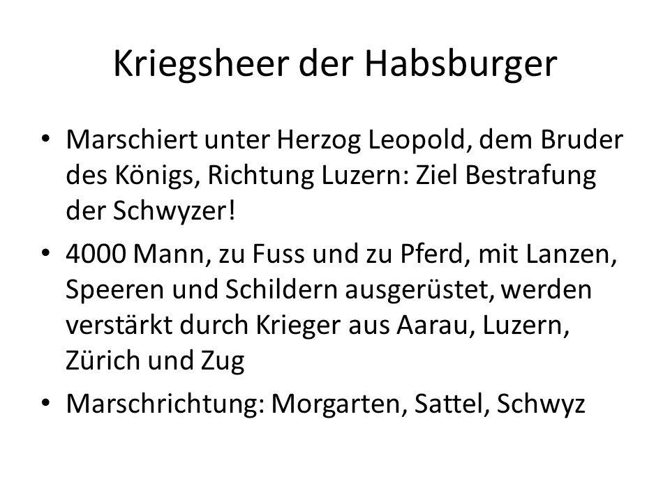 Kriegsheer der Habsburger