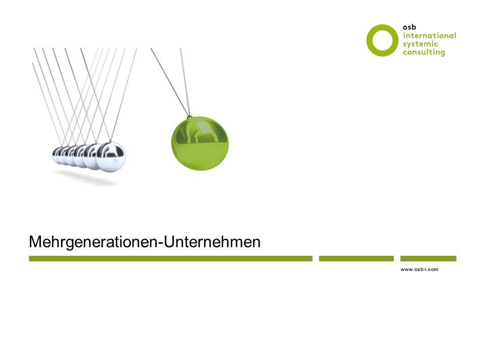 Mehrgenerationen-Unternehmen