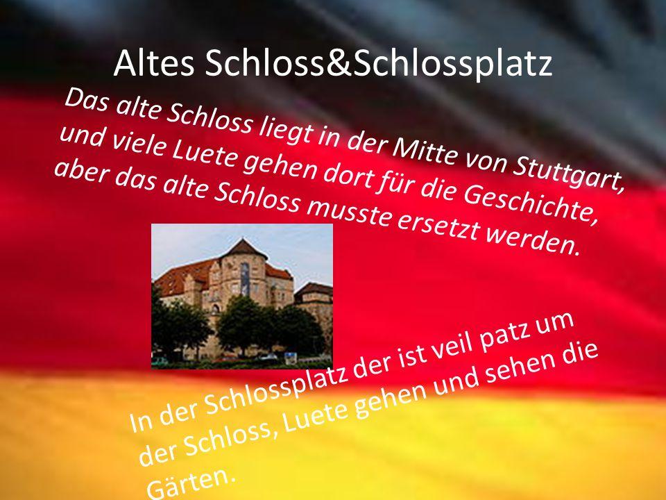 Altes Schloss&Schlossplatz