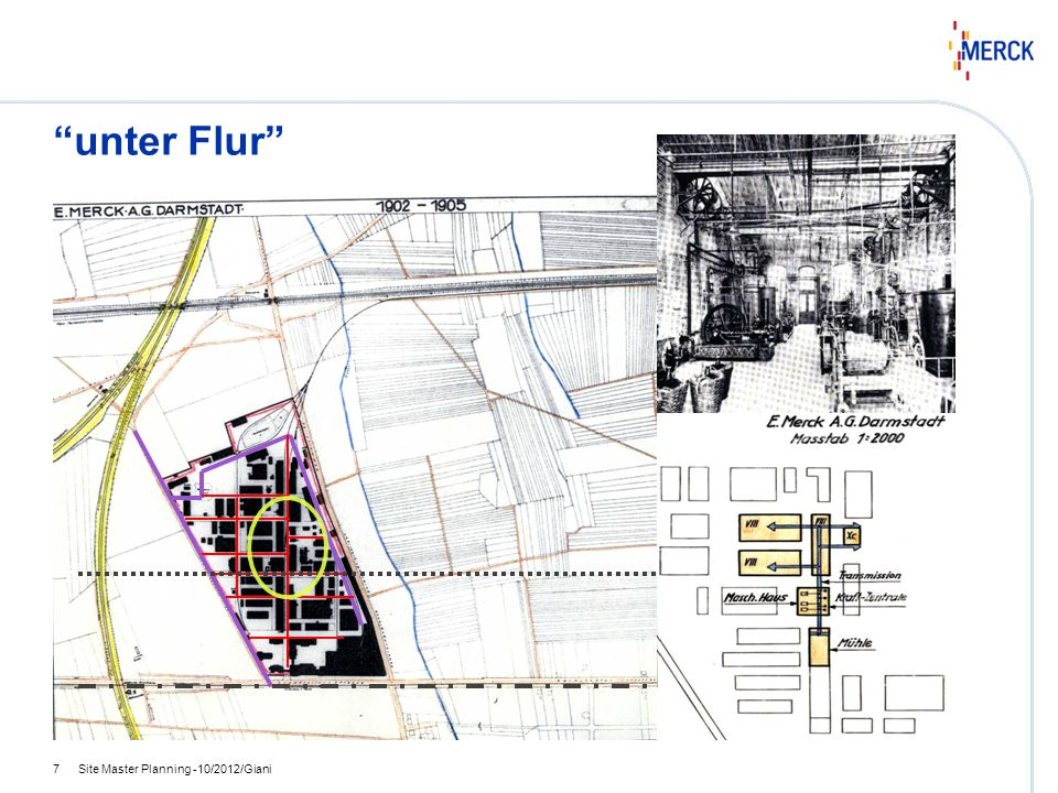 unter Flur Site Master Planning -10/2012/Giani