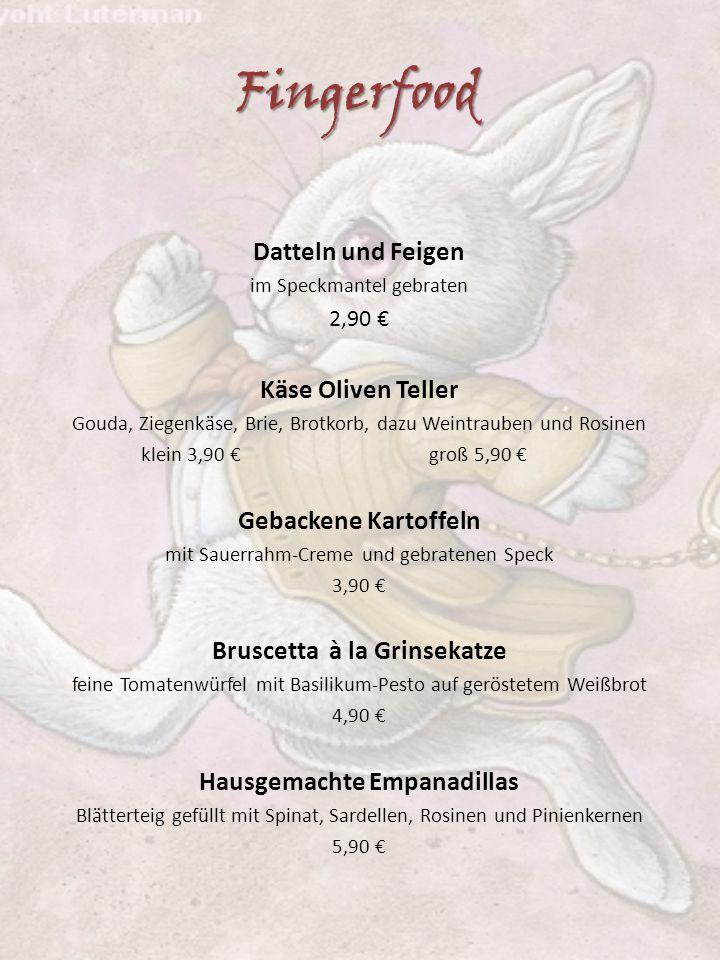 Bruscetta à la Grinsekatze Hausgemachte Empanadillas