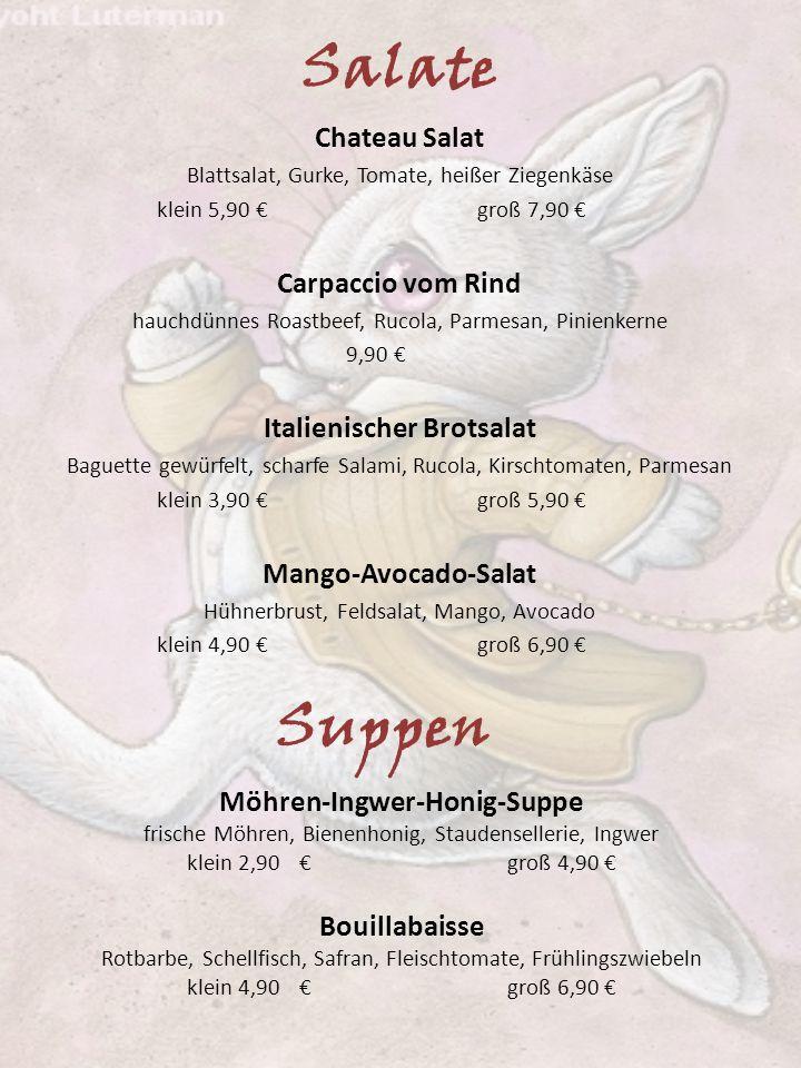 Italienischer Brotsalat Möhren-Ingwer-Honig-Suppe