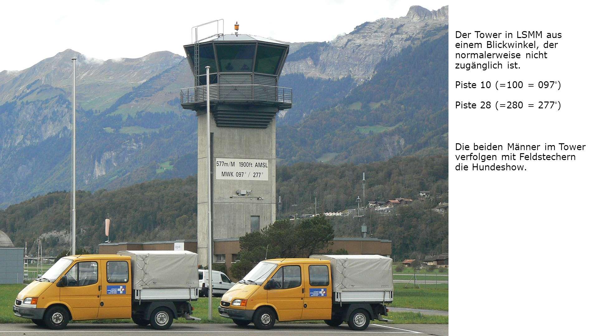Der Tower in LSMM aus einem Blickwinkel, der normalerweise nicht zugänglich ist.