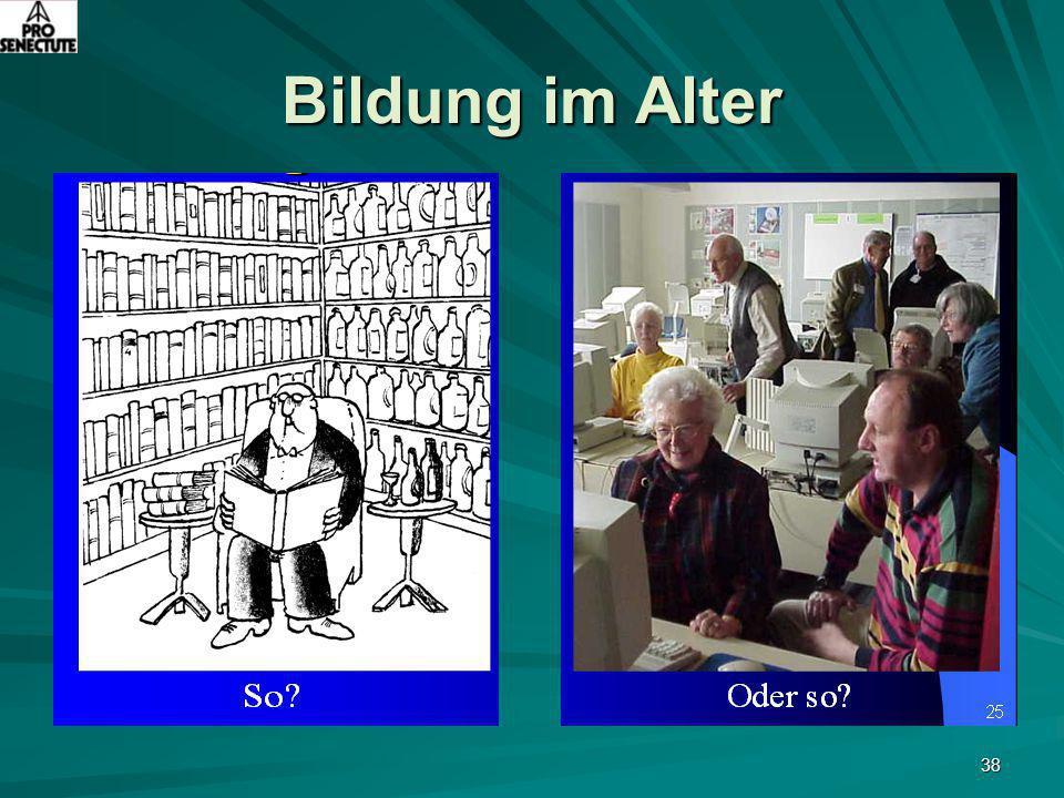 Bildung im Alter