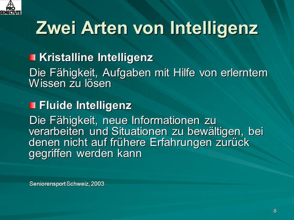 Zwei Arten von Intelligenz
