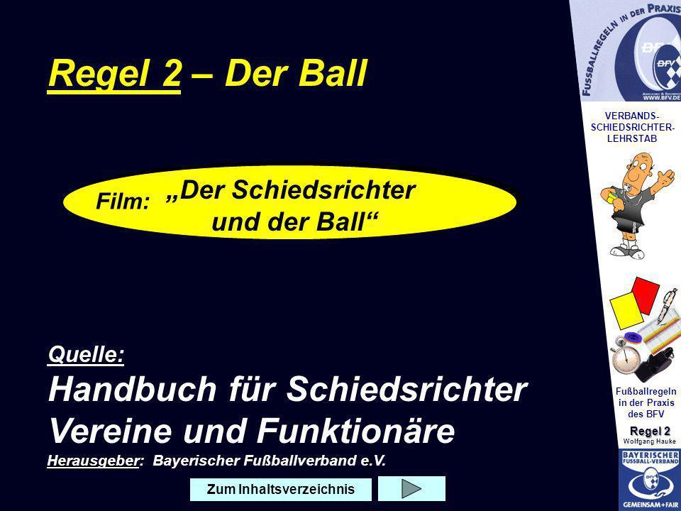 """""""Der Schiedsrichter und der Ball"""