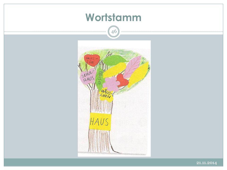 Wortstamm 07.04.2017