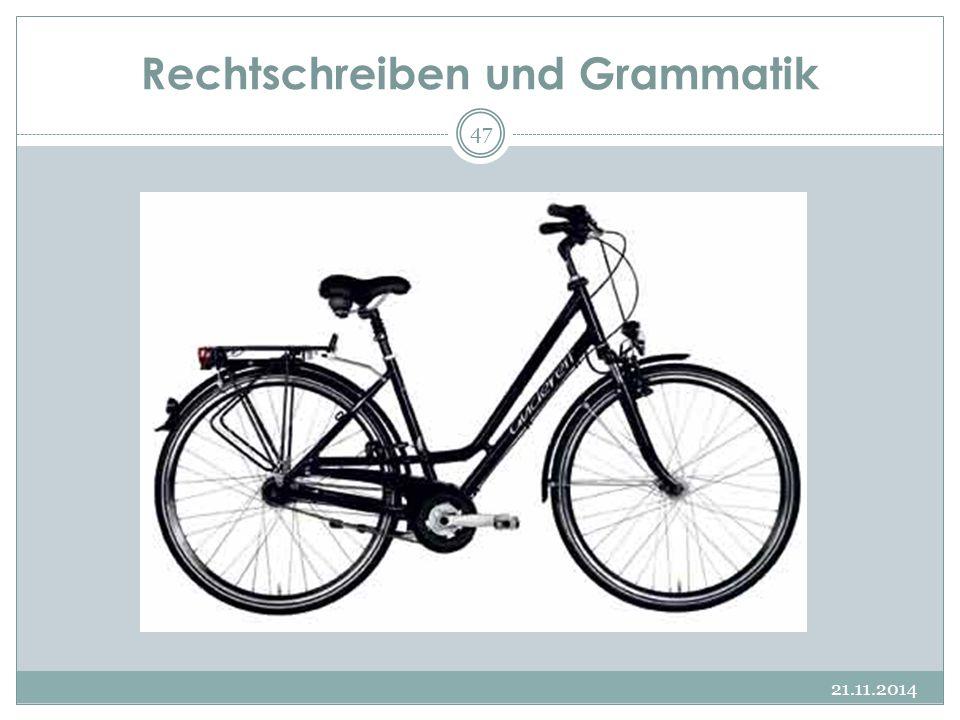 Rechtschreiben und Grammatik