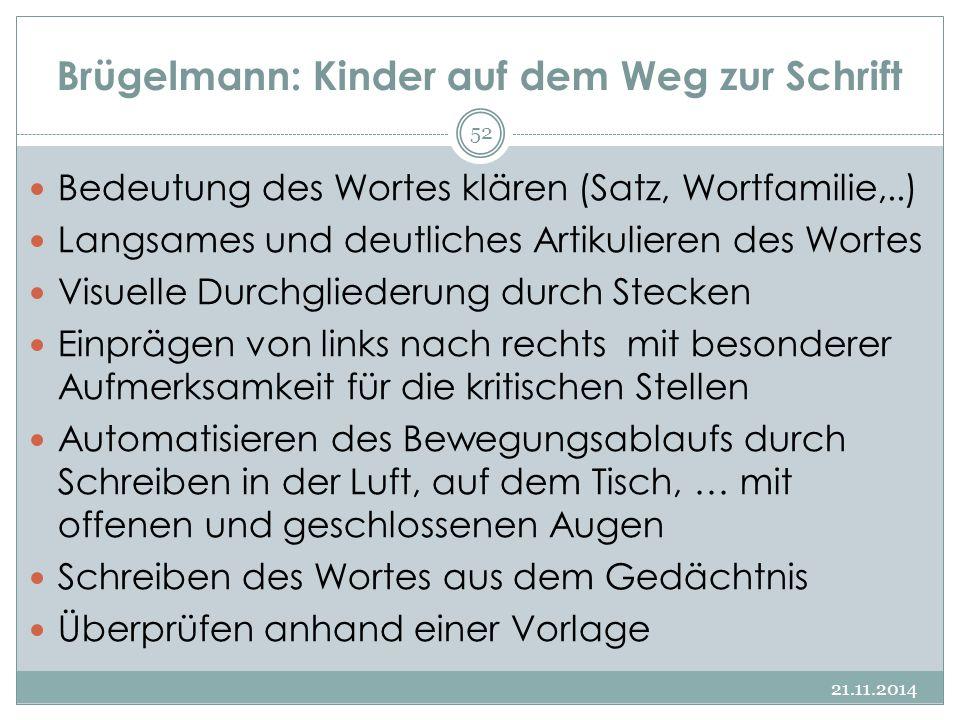 Brügelmann: Kinder auf dem Weg zur Schrift