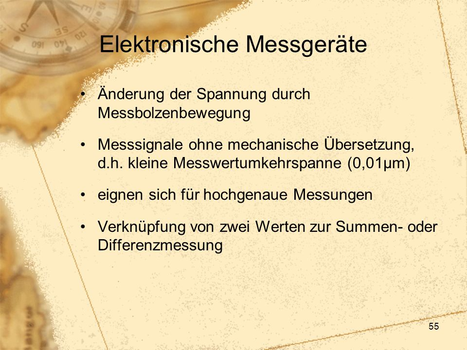 Elektronische Messgeräte