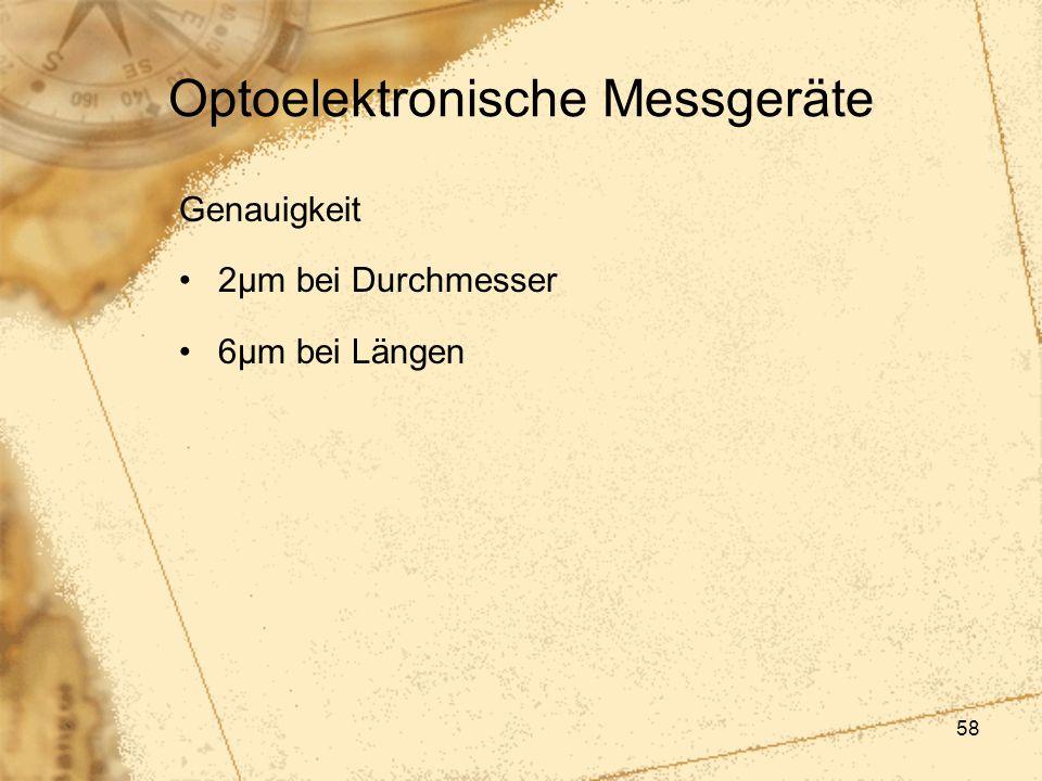 Optoelektronische Messgeräte
