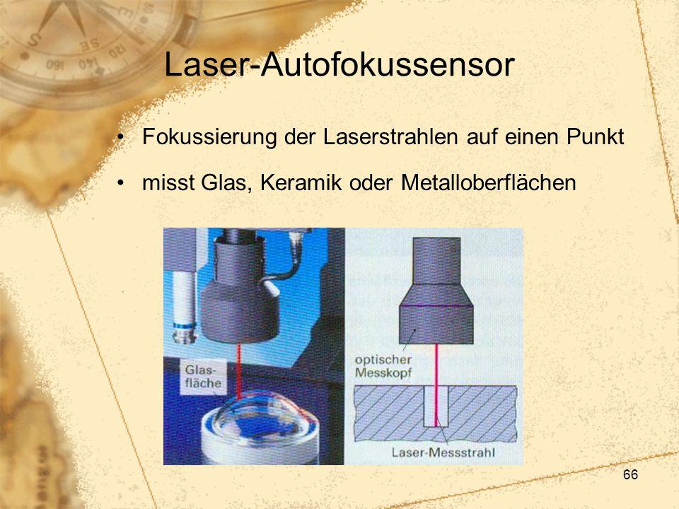 Laser-Autofokussensor