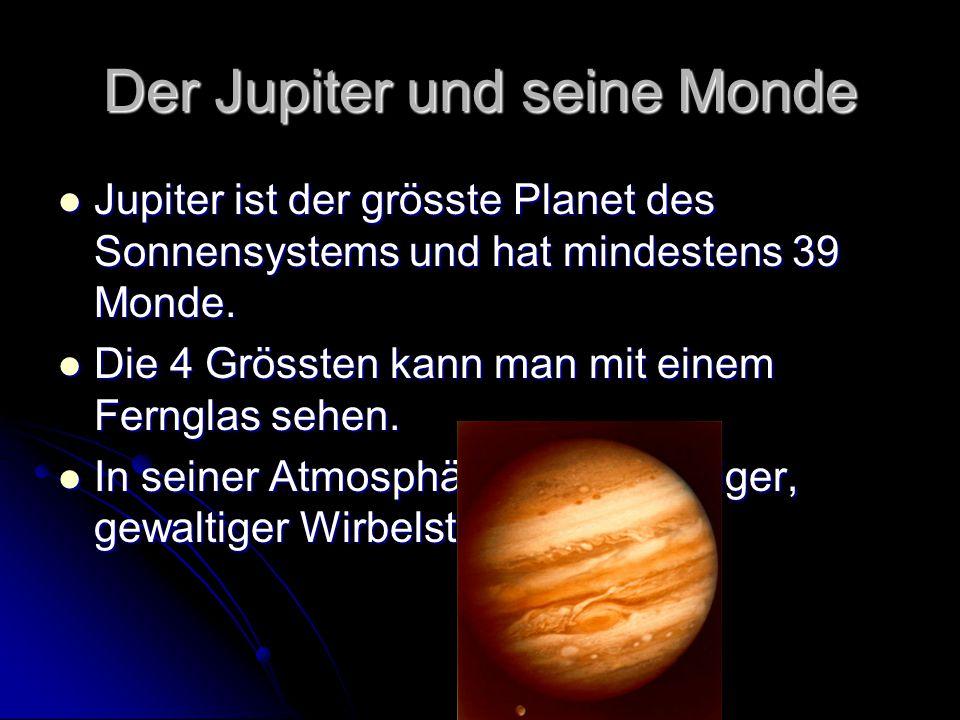 Der Jupiter und seine Monde