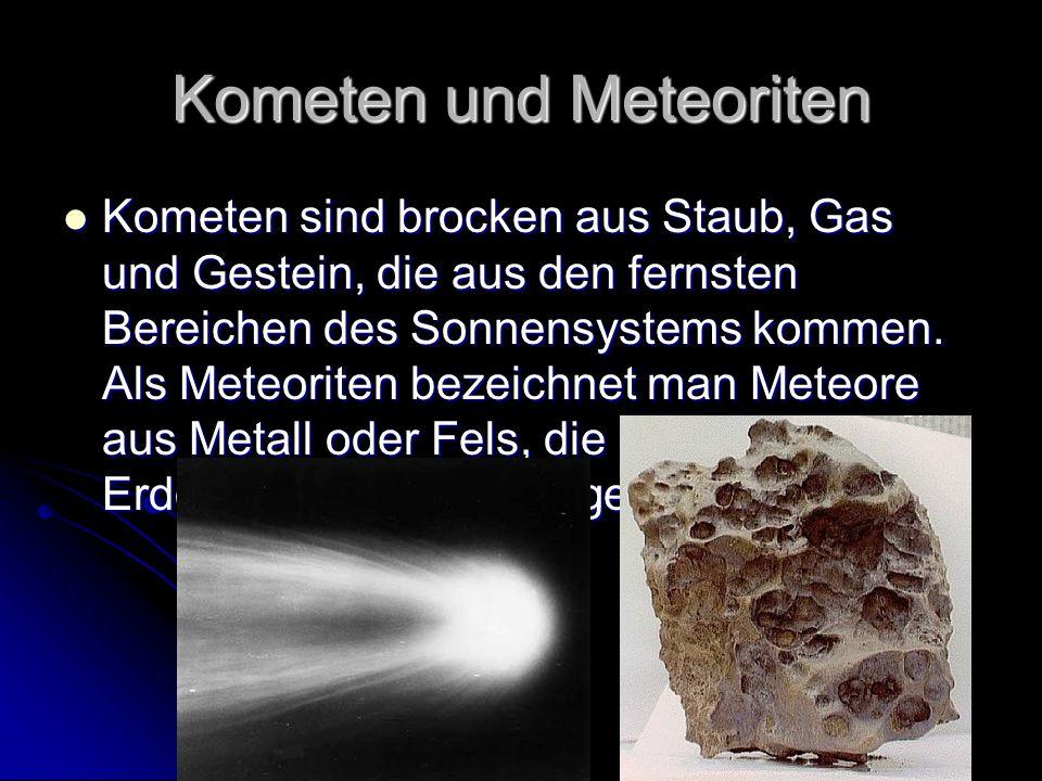 Kometen und Meteoriten