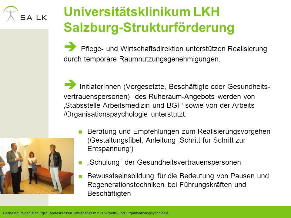 Universitätsklinikum LKH Salzburg-Strukturförderung