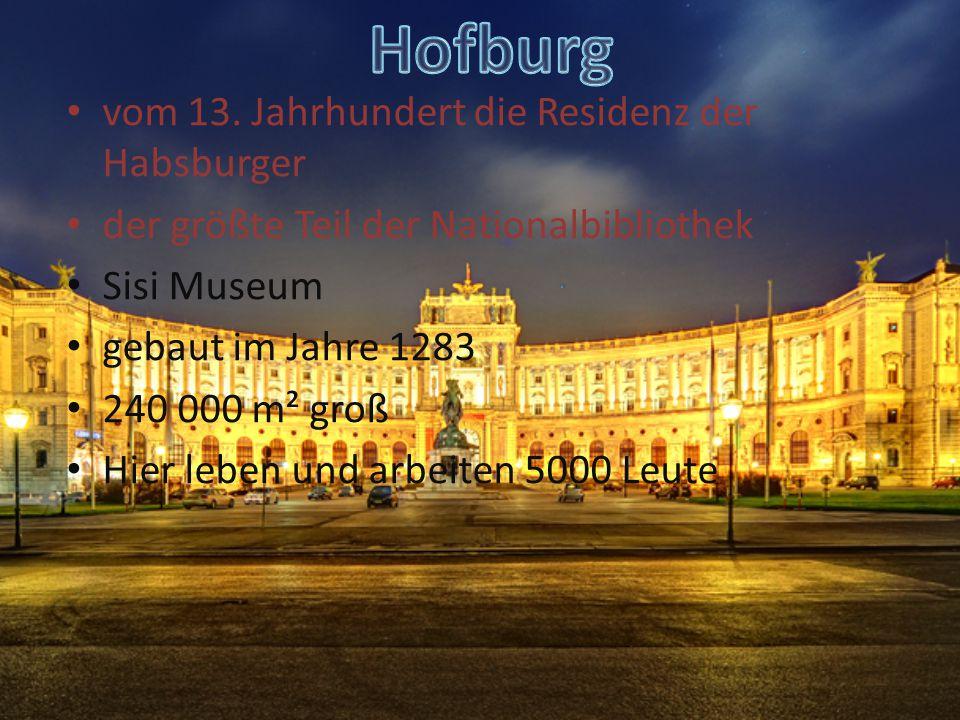 Hofburg vom 13. Jahrhundert die Residenz der Habsburger