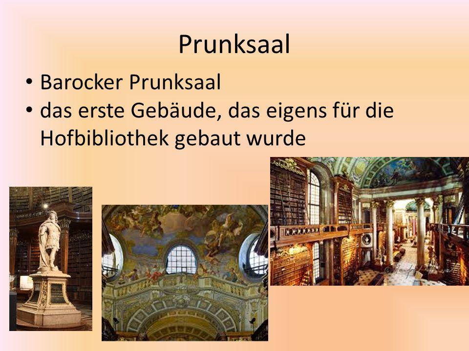 Prunksaal Barocker Prunksaal