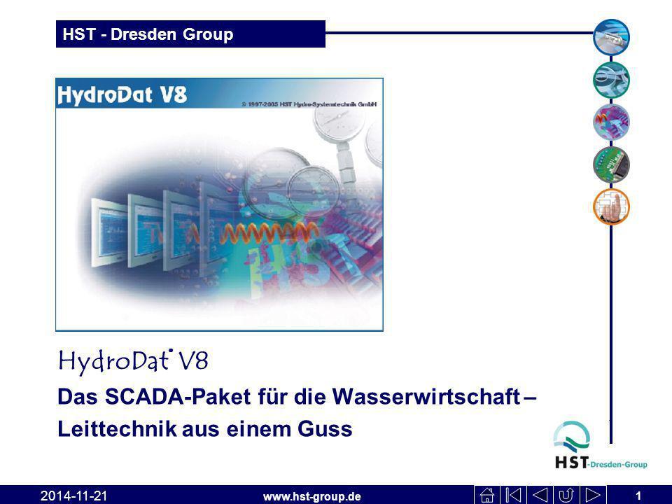 HydroDat® V8 Das SCADA-Paket für die Wasserwirtschaft –