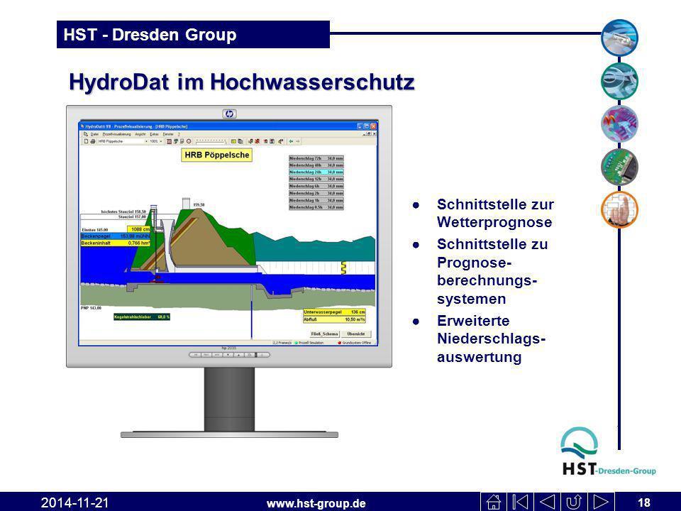 HydroDat im Hochwasserschutz