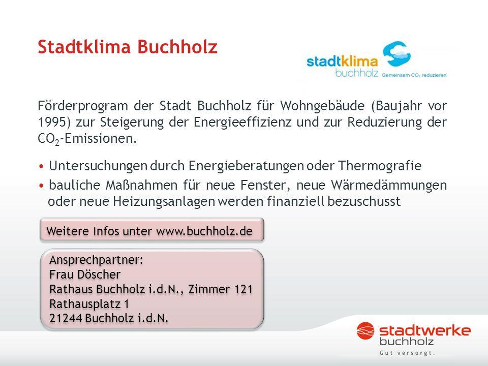 Stadtklima Buchholz