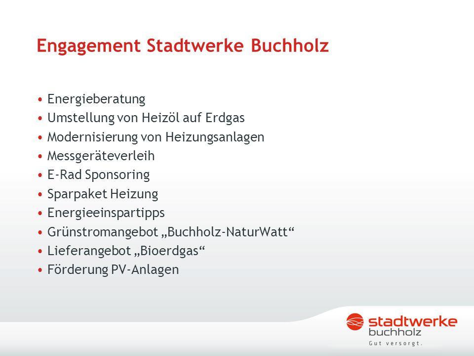 Engagement Stadtwerke Buchholz
