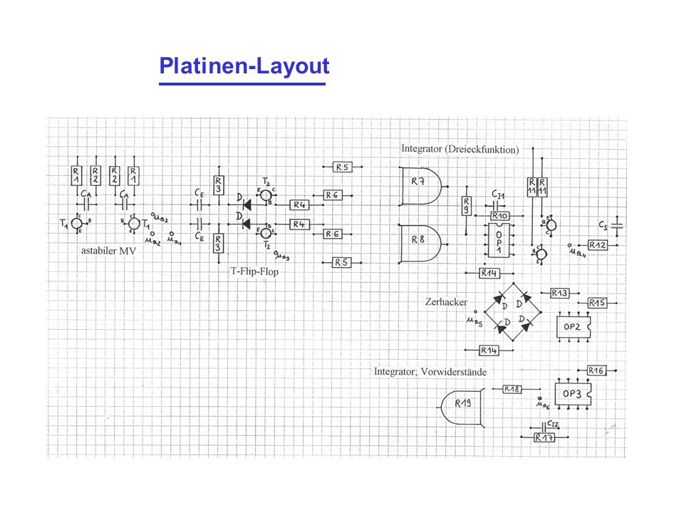 Platinen-Layout