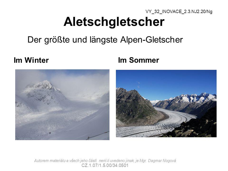 Der größte und längste Alpen-Gletscher