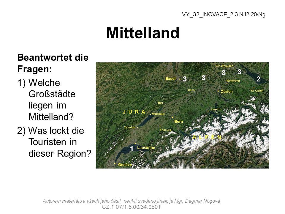 Mittelland Beantwortet die Fragen: