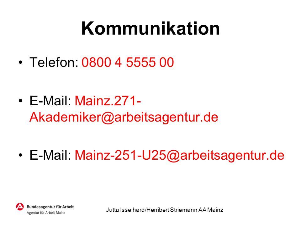 Jutta Isselhard/Herribert Striemann AA Mainz
