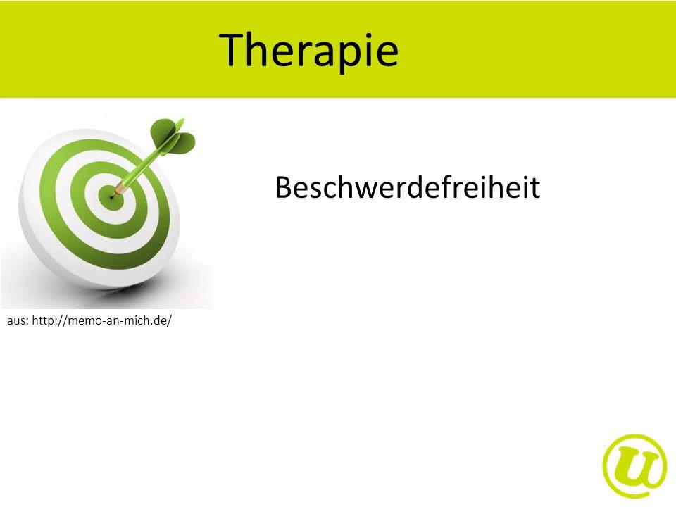 Therapie Beschwerdefreiheit aus: http://memo-an-mich.de/