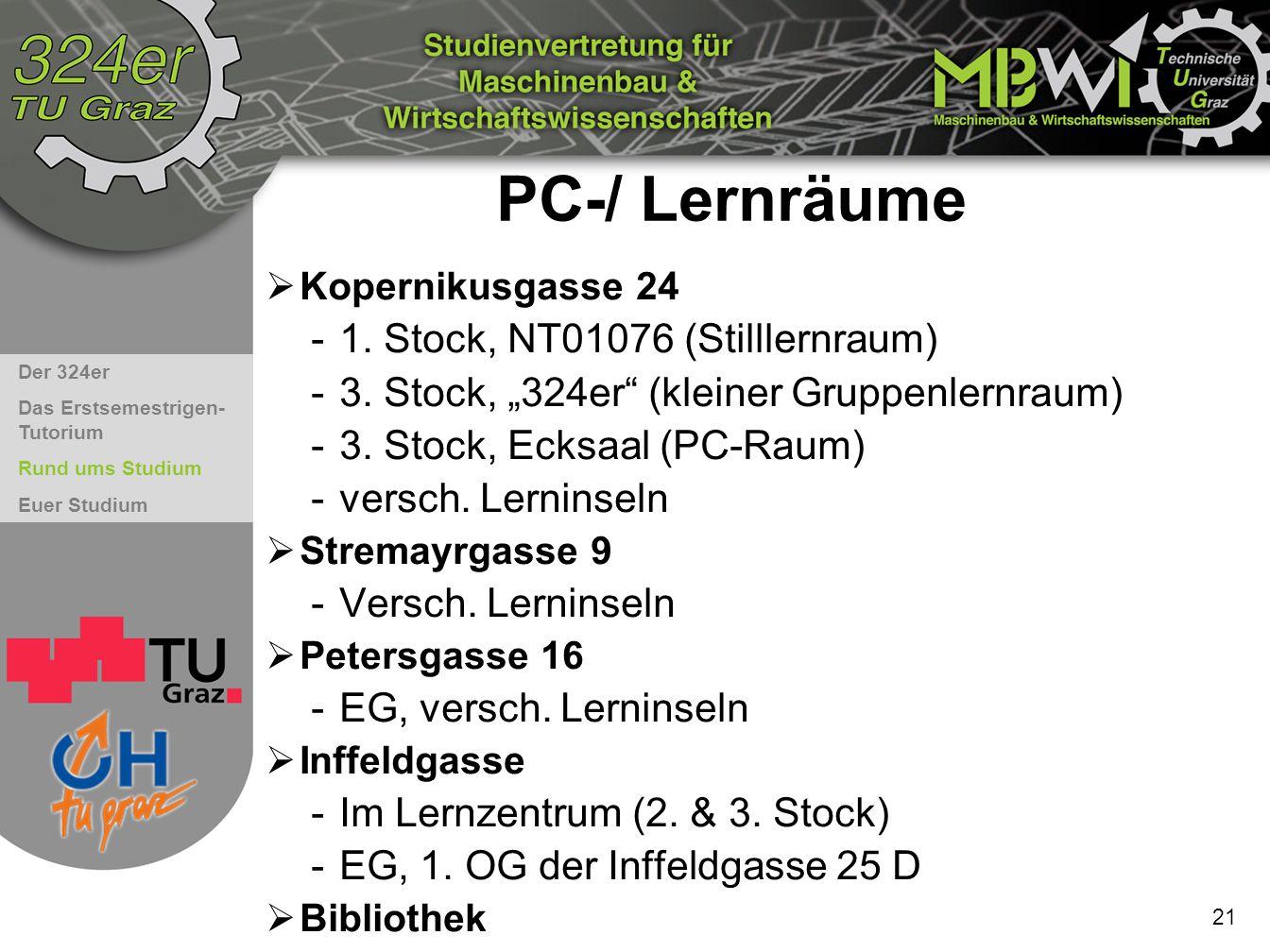 PC-/ Lernräume 1. Stock, NT01076 (Stilllernraum)