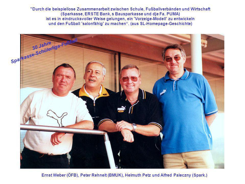 Sparkasse-Schülerliga-Fußball 30 Jahre