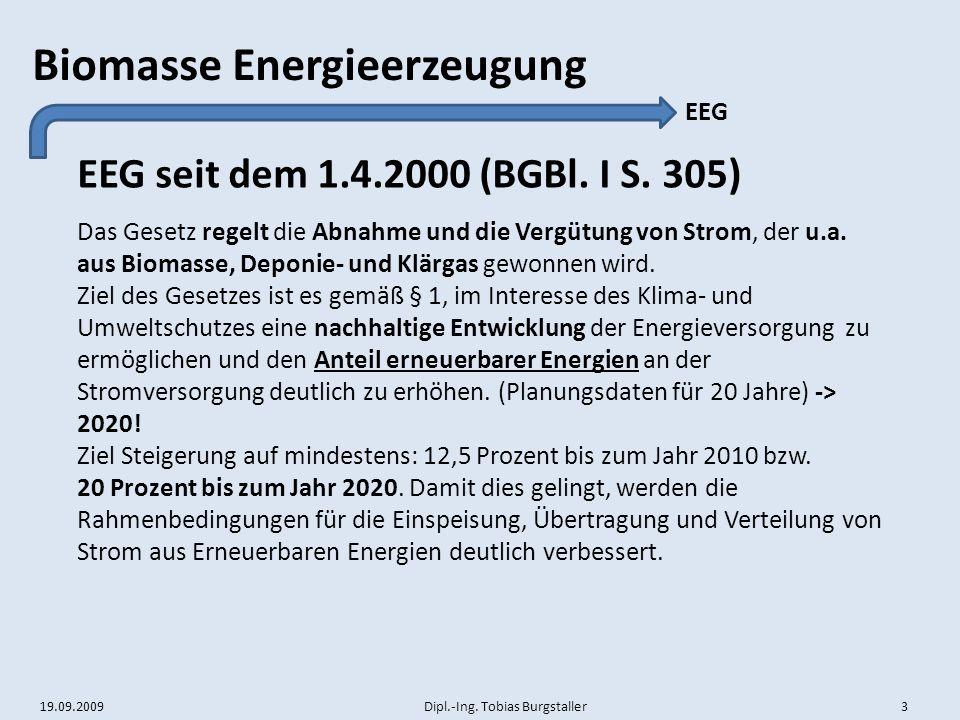 EEG seit dem 1.4.2000 (BGBl. I S. 305) EEG