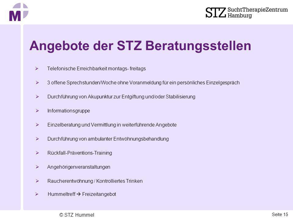 Angebote der STZ Beratungsstellen