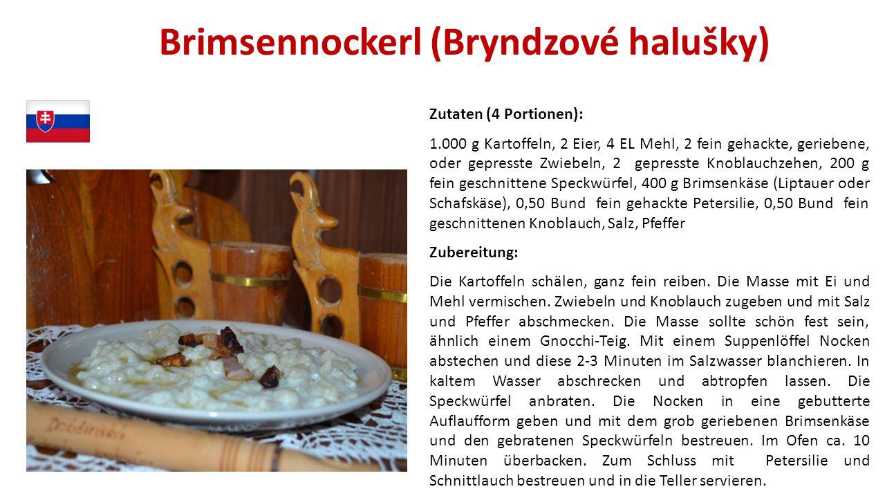 Brimsennockerl (Bryndzové halušky)