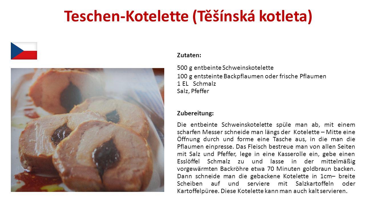 Teschen-Kotelette (Těšínská kotleta)