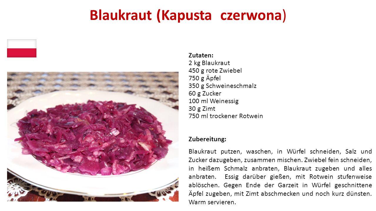 Blaukraut (Kapusta czerwona)