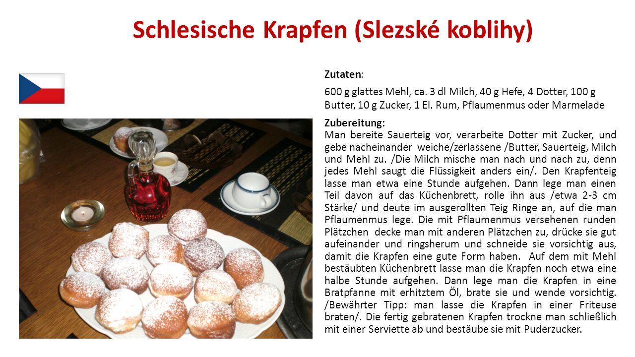 Schlesische Krapfen (Slezské koblihy)