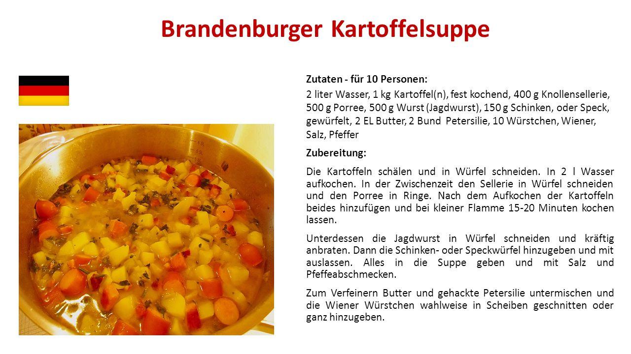 Brandenburger Kartoffelsuppe