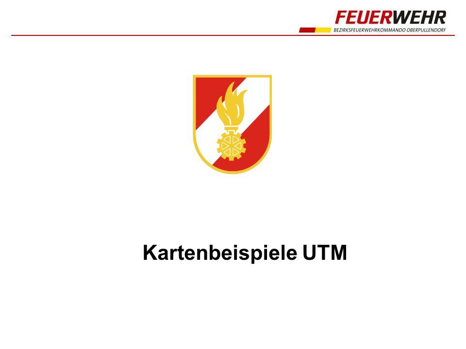 Kartenbeispiele UTM 1