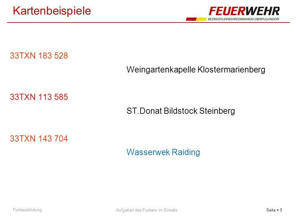 Kartenbeispiele 33TXN 183 528 Weingartenkapelle Klostermarienberg