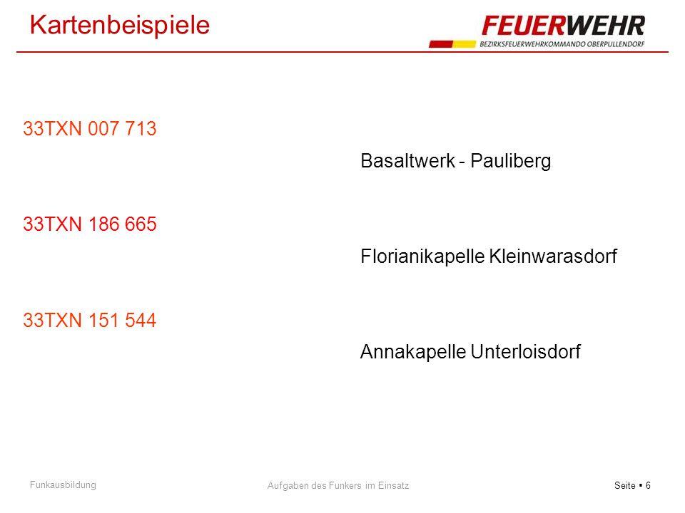 Kartenbeispiele 33TXN 007 713 Basaltwerk - Pauliberg 33TXN 186 665