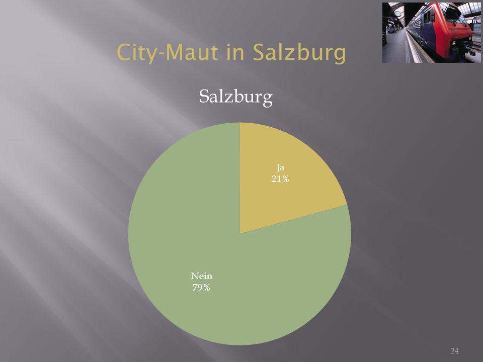 City-Maut in Salzburg Salzburg