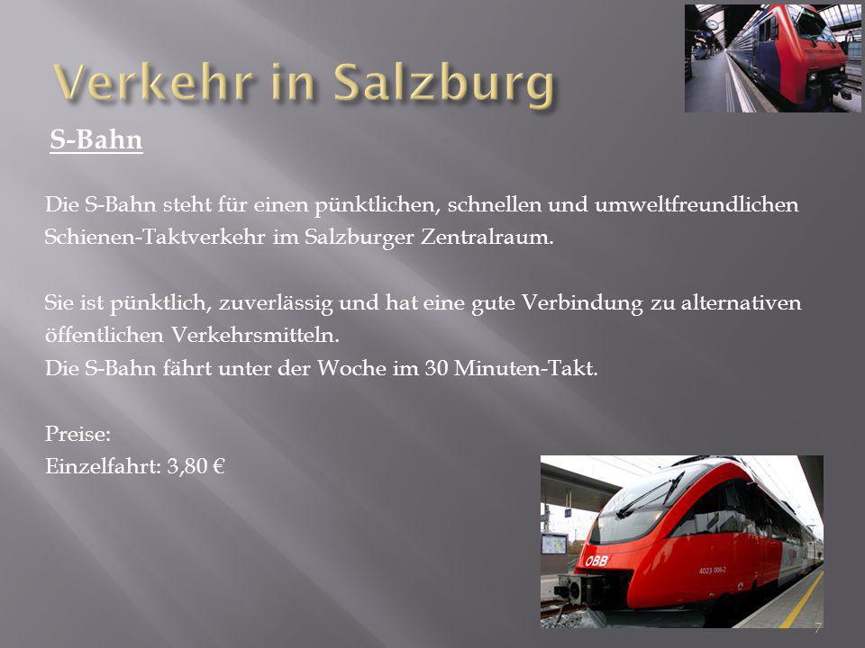 Verkehr in Salzburg S-Bahn
