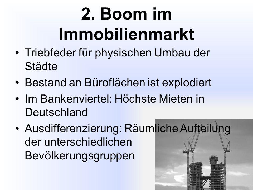 2. Boom im Immobilienmarkt