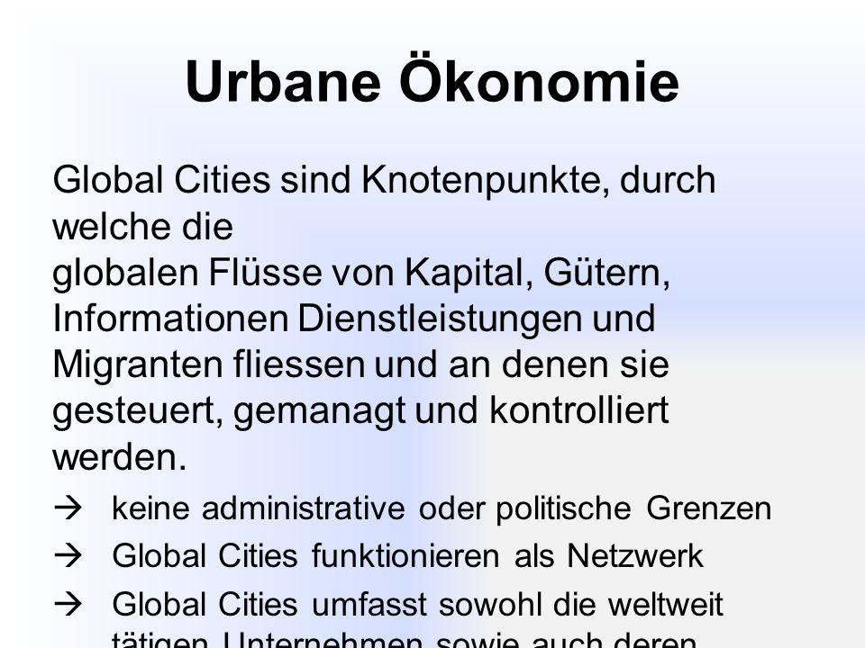 Urbane Ökonomie